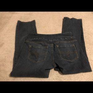 Jag Jeans dark blue denim Boot Leg 10 Petite